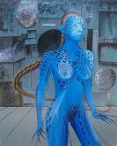 Bild (c) Eddie, Titel: Deep blue mystique
