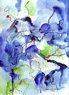 Bild Andrea Zahradnik / Abstrakt in blau